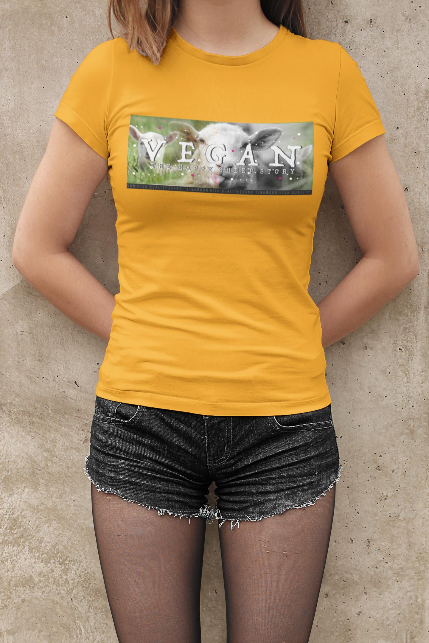 Koszulki wegańskie