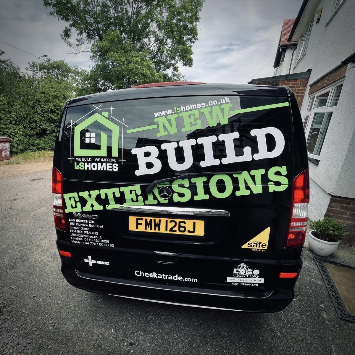 Reklama na samochodzie UK